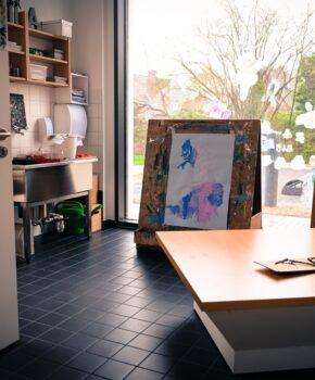 Atelier Sicht Fenster